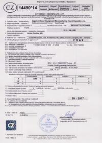 Certificat ATP FRA Ford