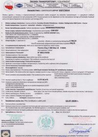 Certificat FRC Sprinter