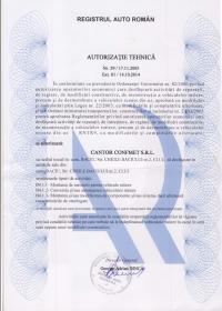 Autorizație tehnica RAR