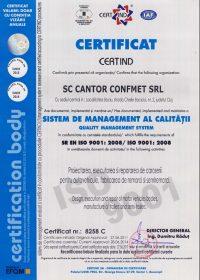 Management al calitatii ISO9001